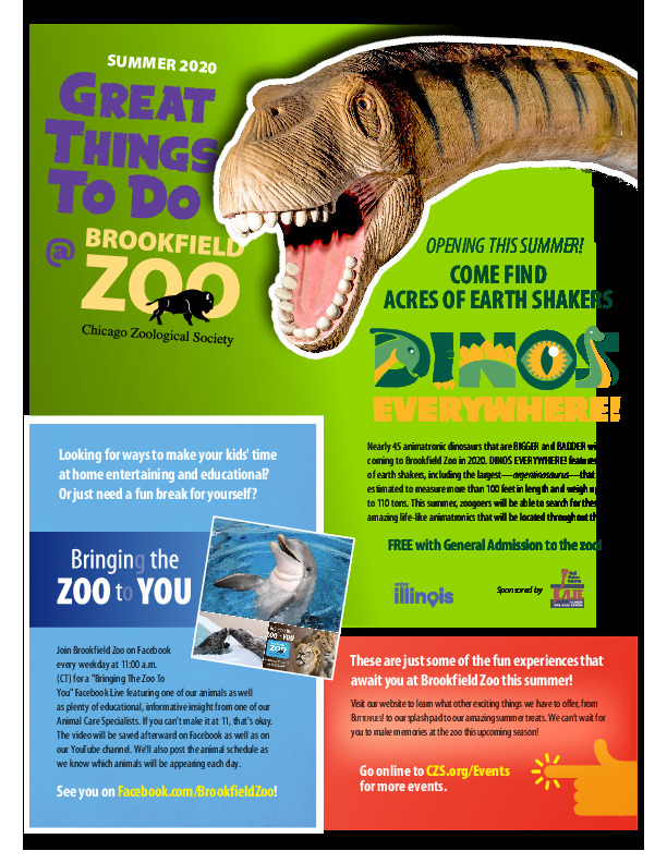 Fun Things to do at Brookfield Zoo