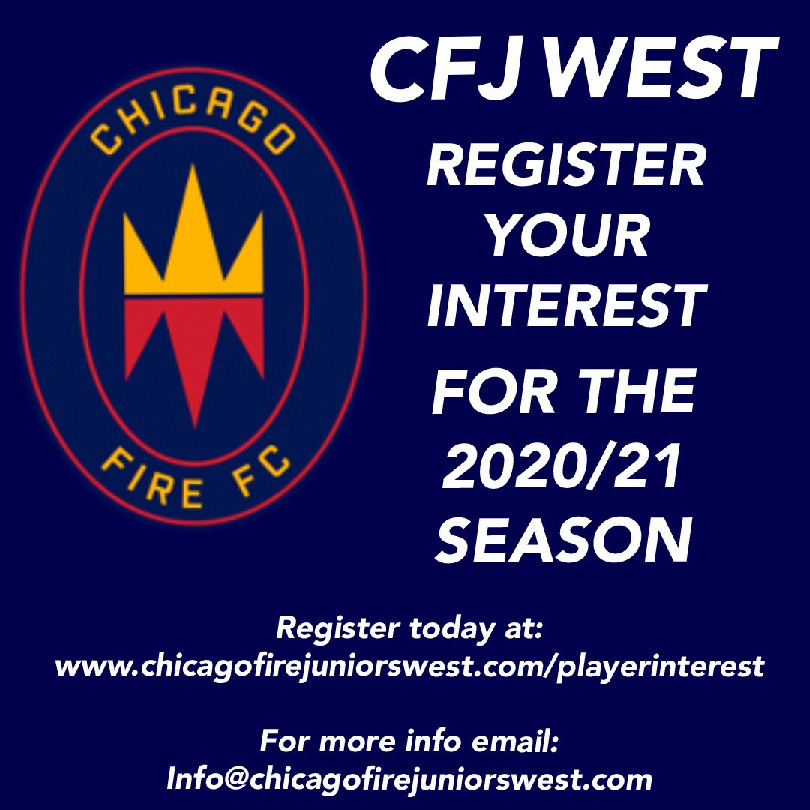 Chicago Fire Juniors West FC Player Interest Information